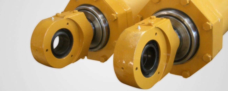 İş Makinası Hidrolik Silindirleri