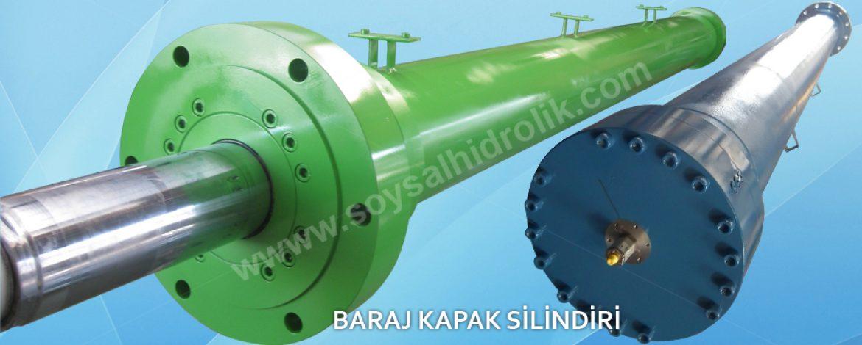 Baraj Kapağı Hidrolik Sistemleri